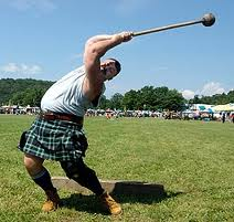 scottish ahmmer throw